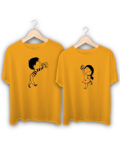 Love You Love You Too Couple T-Shirts