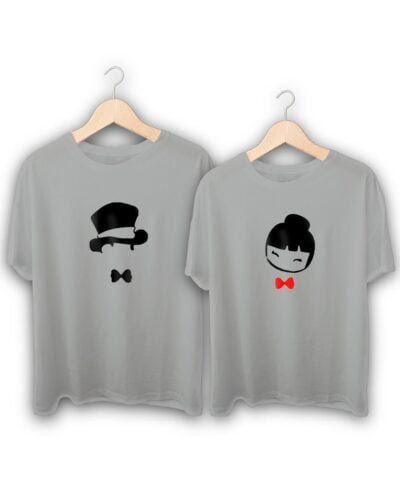 Gentleman and Lady Couple T-Shirts