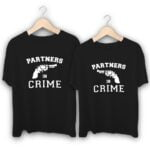 We are Partners in Crime Couple T-Shirts
