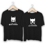 Batman and Catwoman Couple T-Shirts