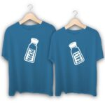 Pepper and Salt Couple T-Shirts