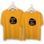 Cute But Psycho But Cute Couple T-Shirts