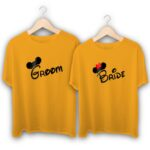 Groom and Bride Couple T-Shirts