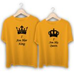 I am her King and She is my Queen Couple T-Shirts