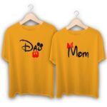 Dad and Mom Couple T-Shirts