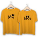 Mr and Mrs Couple T-Shirts