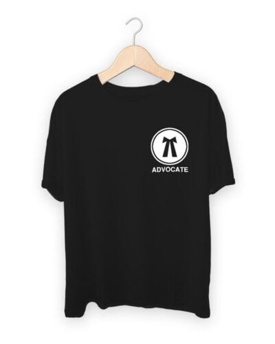 Advocate Lawyer Logo T-shirt