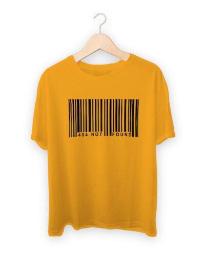 Barcode 404 Not Found T-shirt