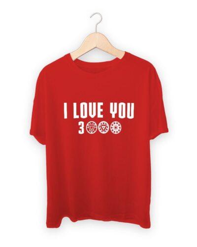 Ironman I Love You 3000 T-shirt