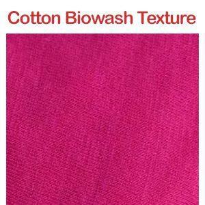 ShopperShine cotton biowash fabric texture