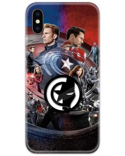 Avengers Civil War 4D Case