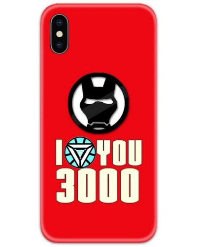 Ironman I Love You 3000 4D Case