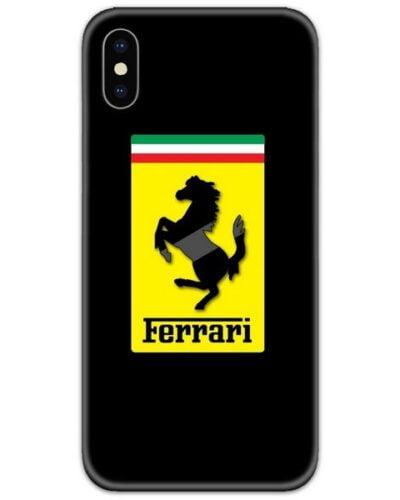 Ferrari Black 4D Case