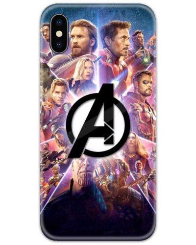 Avengers Endgame Poster 4D Case