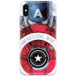 Captain America 4D Case