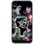Avengers Original 6 Logo 4D Case