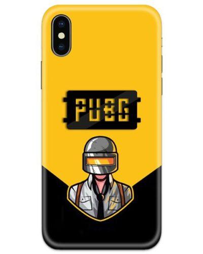 PUBG Black Logo 4D Case