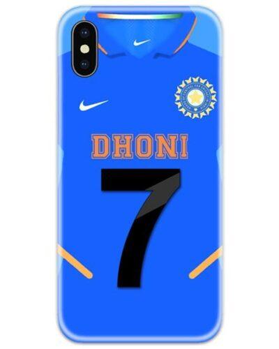 Dhoni 7 Logo Jersey 4D Case