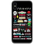 Friends Poster Slim Case Back Cover