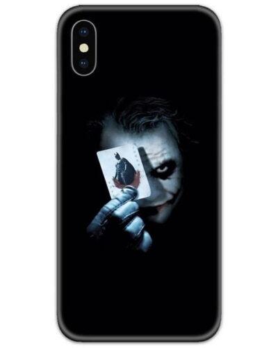 Joker Batman Card Slim Case Back Cover