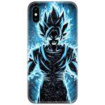 Dragon Ball Z Goku Blue Slim Case Back Cover
