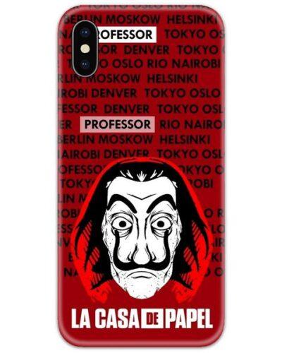 Money Heist La Casa Slim Case Back Cover