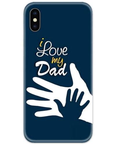 I Love My Dad Slim Case Back Cover