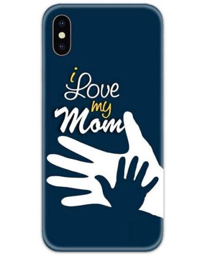 I Love My Mom Slim Case Back Cover