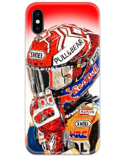 Valentino Rossi Red Slim Case Back Cover