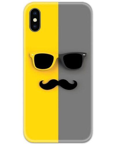 Mustache Slim Case Back Cover