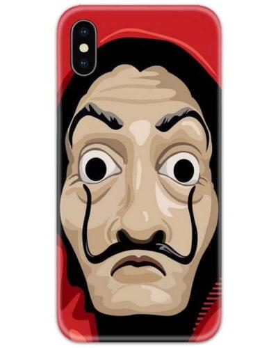 Money Heist Mask Slim Case Back Cover