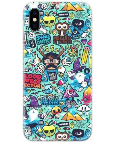 We Don't Care About Your Status Updates Slim Case Back Cover