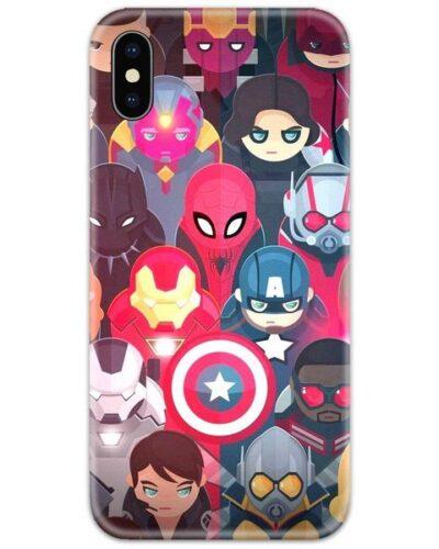Avenger Cute Minis Slim Case Back Cover