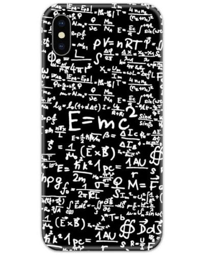 Physics Equations Slim Case Back Cover