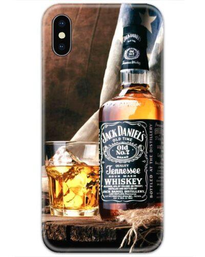 Jack Daniels Bottle Slim Case Back Cover Slim Case Back Cover