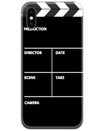 Movie Clapper Board Slim Case Back Cover