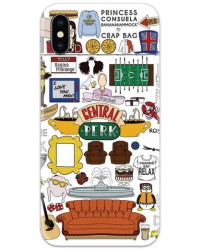 Friends Poster White Slim Case Back Cover