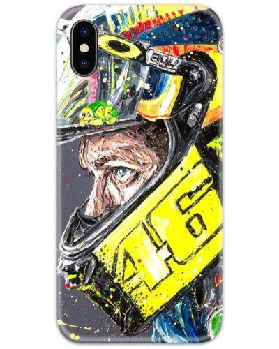 Valentino Rossi 46 Helmet Slim Case Back Cover