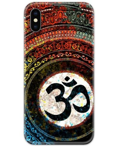 Om Abstract Slim Case Back Cover