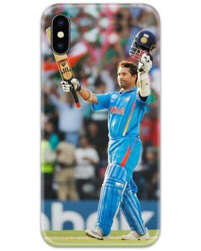 Sachin Tendulkar Fan Slim Case Back Cover