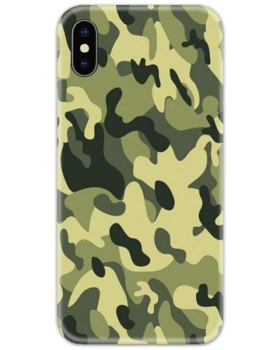 Military Army Camouflage Slim Case Back Cover