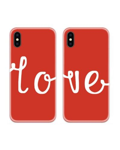 Love Couple Case Back Covers