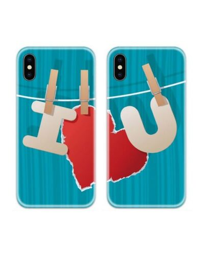 I Love You Couple Case Back Covers