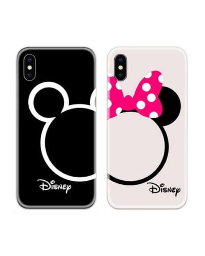Disney Mickey n Minnie Couple Case Back Covers