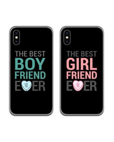 The Best Boyfriend Girlfriend Ever Couple Case Back Covers