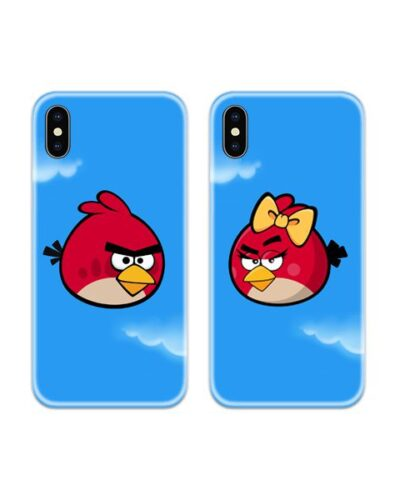 Angry Bird Couple Case Back Covers