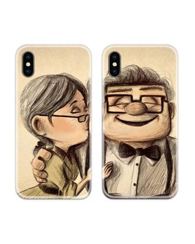 UP Movie Cute Couple Case Back Covers