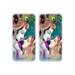 Radha Krishna Lovers Couple Case Back Covers
