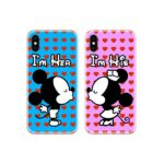 I am Mickey Minnie Couple Case Back Covers