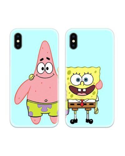 Spongebob Patrick Couple Case Back Covers